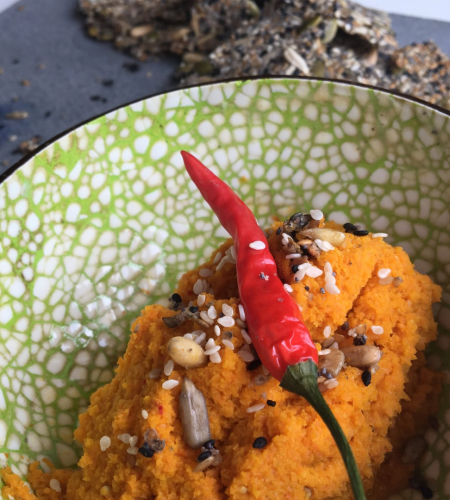KPNI Foodie wortelspread